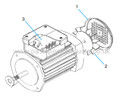 Buy Spare Parts For Argonaut New Model Pump Motor