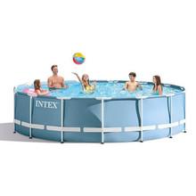 Intex 18ft x 48 in deep prism frame pool