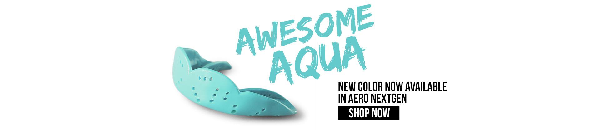 SISU Mouthguard Aqua