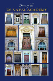 """Doors of the US Naval Academy"" (11"" x 17"" print)"