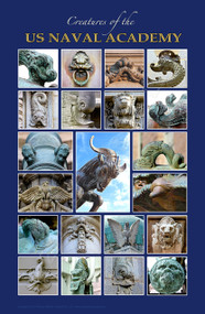 """""""Creatures of the US Naval Academy"""" (11""""x17"""" print)"""
