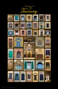 """Windows of Tuscany"" (11""x17"" print)"
