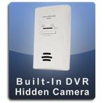 Carbon Monixode Detector DVR Series Nannycam  -  CMOX-DVR