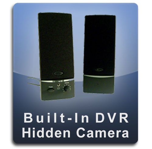 Computer Speakers DVR Series Hidden Camera Spy Camera Nanny Camera - COMSPEAKER-DVR