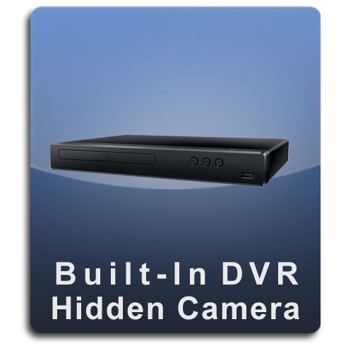 DVD Player DVR Series Hidden Nanny Camera - DVD-DVR