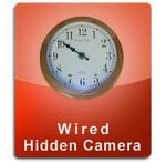 Oak Clock Wired Series Hidden Nanny Camera  -  OAKCLOCK-WIRED