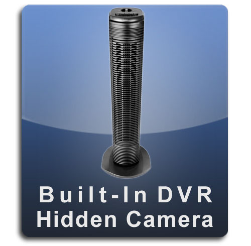 Tower Fan Hidden Camera Spy Camera Nanny Cam with Built-in DVR