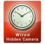 Wired Series Wall Clock Hidden Camera  -  WALLCLOCK-WIRED