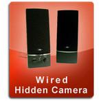 Wired Series Computer Speakers Hidden Cameras
