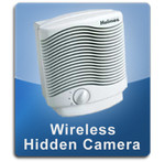 Wireless Air Cleaner Hidden Camera Air Purifier Hidden Camera