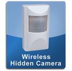 Motion Detector Wireless 1000 Hidden Spy Cameras  -  MOTION-1000
