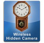 Oak Clock Wireless 1000 Hidden Camera Spy Camera Nanny Cam  -  OAKCLOCK-1000