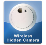 Smoke Detector Wireless 1000 Hidden Spy Cameras  -  SMOKE-1000
