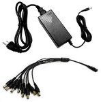 12 Volt Power Supply for Security Cameras 5 Amps