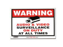 Accessories Misc Accessories CCTVSTICKERS  -  CCTV