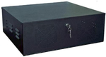 Steel Lockbox for Slimline PCs, DVRs, and VCRs  -  LOC200