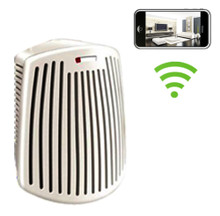 Wifi Odor Eliminator Air Filter Hidden Camera Nanny Cam Spy Camera