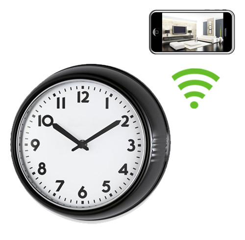 Wifi Series Wall Clock Hidden Spy Camera