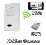 WiFi Series Carbon Monoxide Detector Hidden Spy Camera