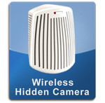 Wireless Odor Eliminator Air Purifier Air Filter Hidden Camera Spy Camera