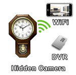 WiFi Series Pendulum Clock Hidden Spy Camera