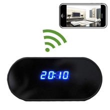 Alarm Clock Hidden Camera with NO PINHOLE and WiFi Remote Viewing, 1920x1080