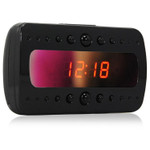 Alarm Clock Hidden Spy Camera with Night Vision and DVR 1920x1080