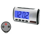 Alarm Clock Hidden Spy Camera with DVR 720x480