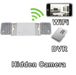 WiFi Series Emergency Light Hidden Spy Camera