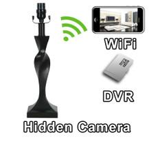 Lamp Hidden Camera Spy Camera Nanny Cam Hidden Camera with WiFi DVR IP Live