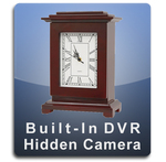 Square Clock DVR Series Hidden Camera Spy Camera Nanny Camera