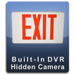 Exit Sign DVR Series Hidden Camera Spy Camera Nanny Camera