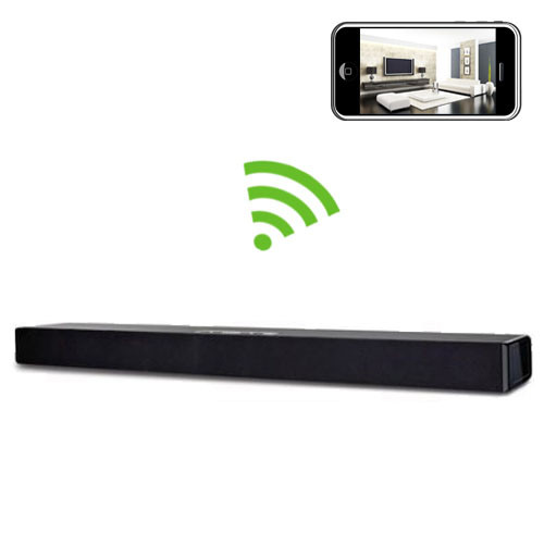 WiFi Sound Bar Player Hidden Camera Spy Camera Nanny Cam