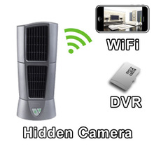 Desk Fan Hidden Camera Spy Camera Nanny Cam With Built-in DVR And WiFi Live Viewing from iPhone and Android