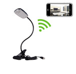 Desk Lamp Hidden Camera with Built-in DVR and WiFi 1280x720