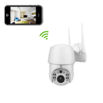 2 MegaPixel PTZ Dome Security Camera with WiFi and Built-in DVR