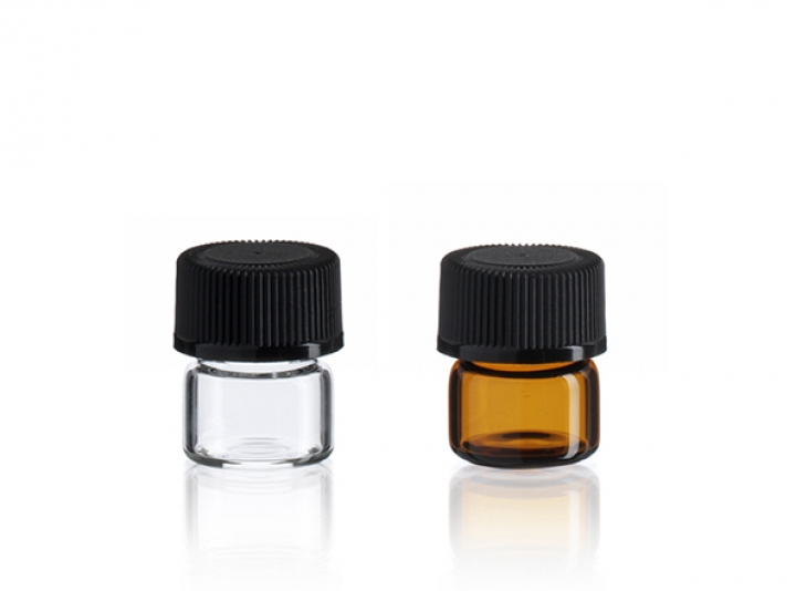 Group of 1/4 Dram Vials