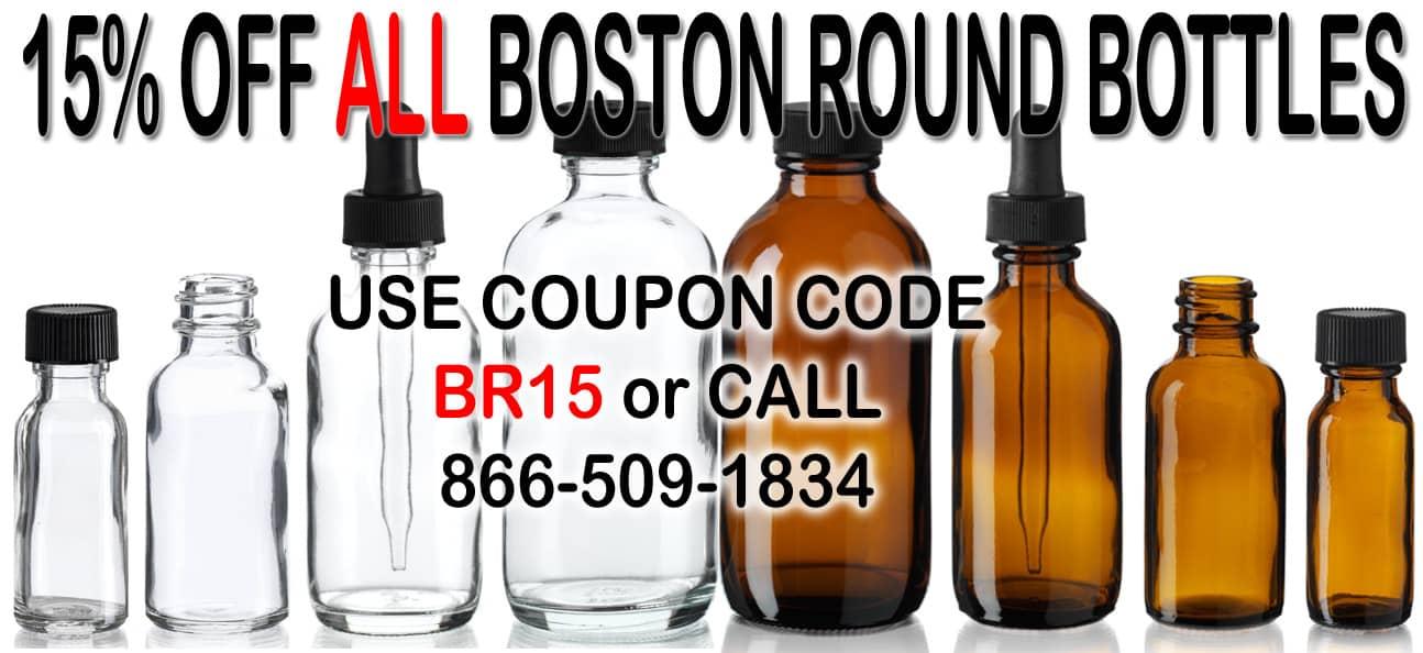 Boston Round Sale - 15% Off w/ Code BR15