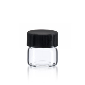 Flat Bottom Wide Mouth Vial 26 x 26 mm - US Made
