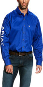 Ariat Mens Ultramarine Embroidered Team Logo Shirt