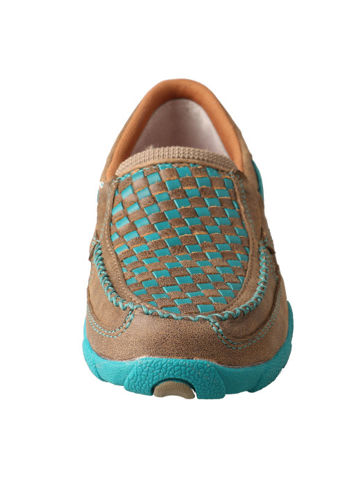 8ed2e51c597 ... Twisted X Boots  Women s Slip-on Driving Moccasins – Bomber Turquoise.  Hover over image to zoom