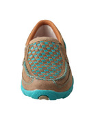Women's Slip-on Driving Moccasins – Bomber/Turquoise