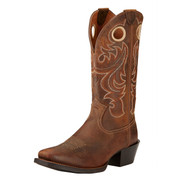 Ariat Mens Sport Square Toe Cowboy Boots Powder Brown