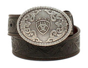 Ariat Boys' Holden Tooled Belt - A1300201