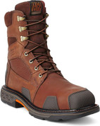 "Ariat Overdrive 8"" Lace-Up Work Boots - Composition Toe"