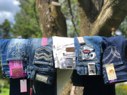 Girls/Youth Denim Jeans - Cruel Girl - Ariat - Wrangler - Rock&Roll