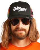 Dale Brisby Men's Serape Retro Trucker Hat