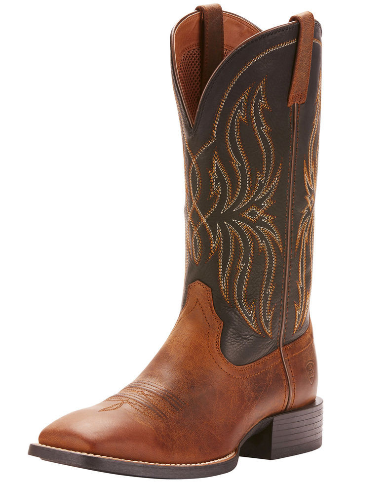 9f997992 Ariat Men's Rustler Brute Western Boots - Square Toe - South 40 ...