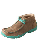 Kid's Twisted X Driving Mocs Turquoise