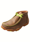 Kid's Twisted X Driving Mocs Neon Yellow